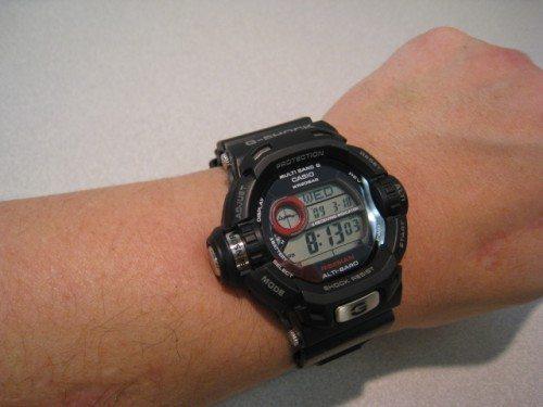 Riseman on my 7-inch wrist.