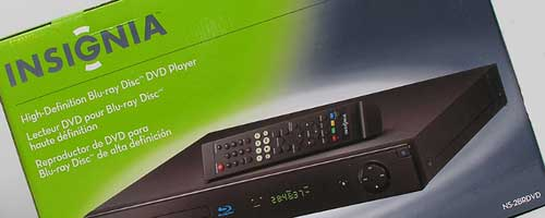 Insignia Blu-ray DVD Player (NS-2BRDVD) Review – The Gadgeteer