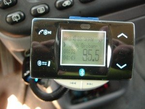 Transmitter playing an SD card