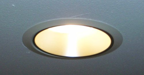 Juno led downlight aka recessed canned light review the gadgeteer junoledcanned 2 aloadofball Images