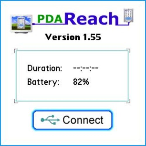 PdaReach, Palm screen (the real action happens on your computer)