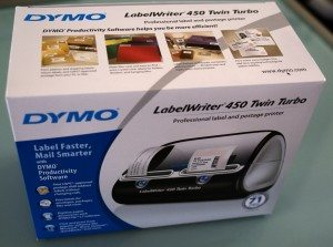 DYMO LabelWriter 450 Twin Turbo Review – The Gadgeteer