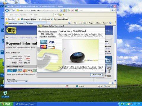 Swipe Medium Web view