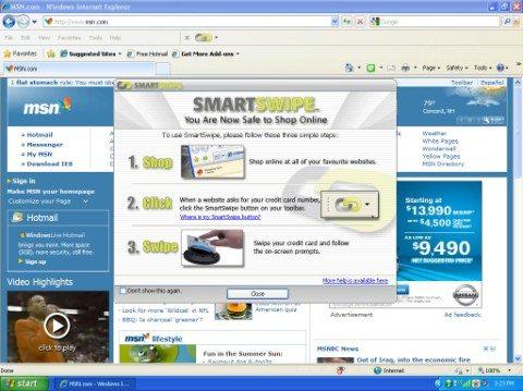 Swipe0 Medium Web view