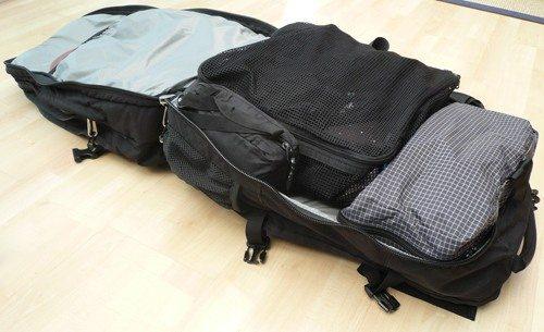 Meta garment compartment filled