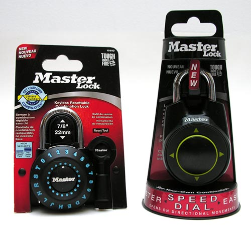 Master Lock offers residential, automotive, commercial and locker lock prod