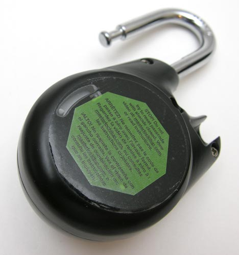 How to open a master combination lock