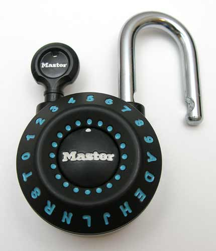 Master lock how to open