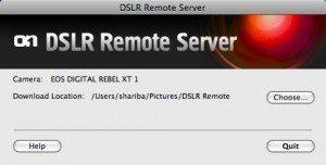 DSLR Remote - Computer Server