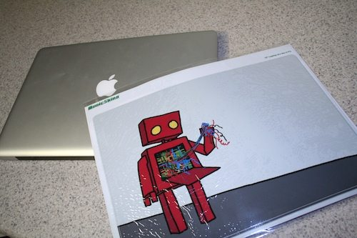Music Skins Laptop Skin in the Package