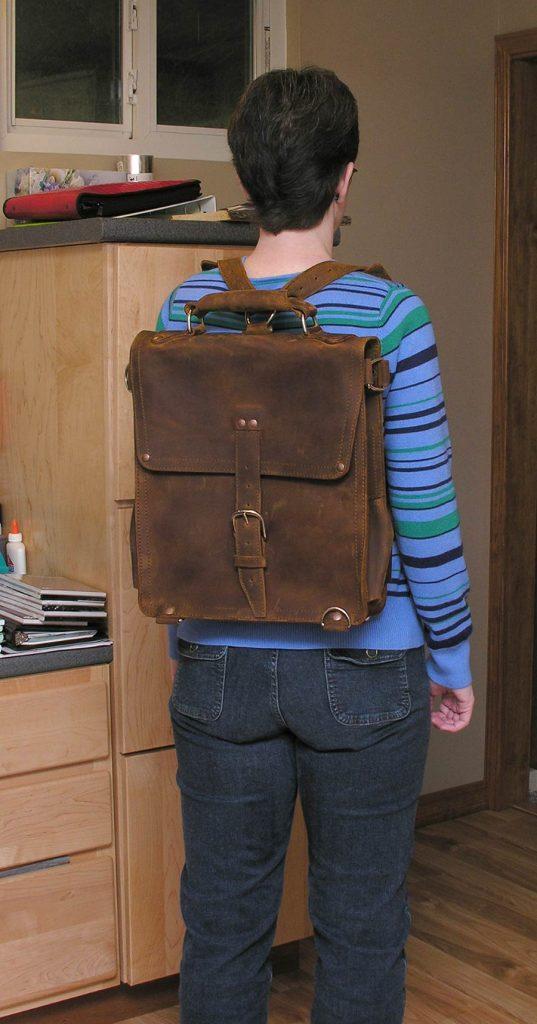 Saddleback Leather Travel Bag