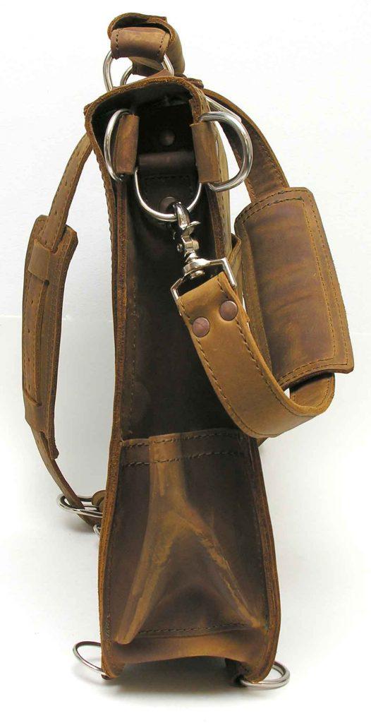 "Saddleback Leather Company Retired Utility Strap Small 11/"" Chestnut"
