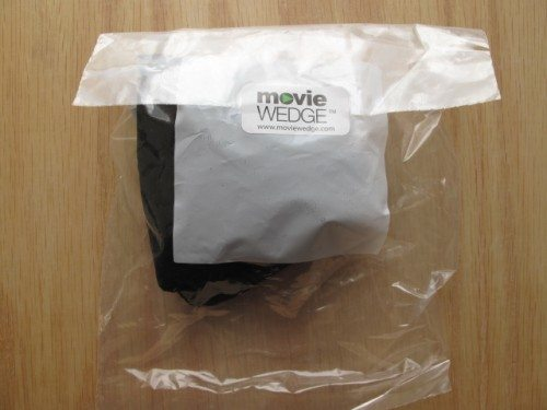 The MovieWedge's simple packaging