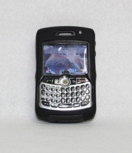 Front of Otterbox for Blackberry