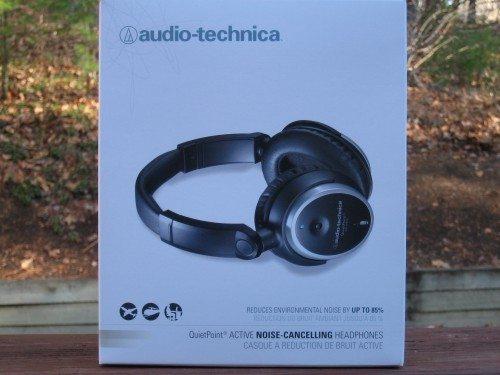 Audio Technica Quietpoint Active Noise Cancelling Headphones Ath