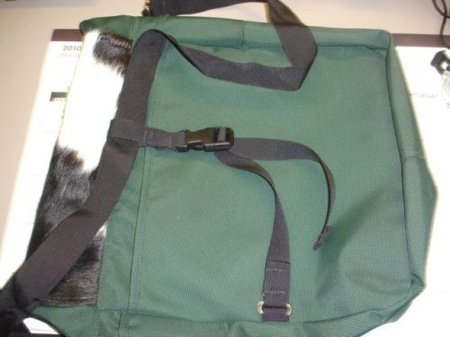 Back view- large pocket and 'third strap'
