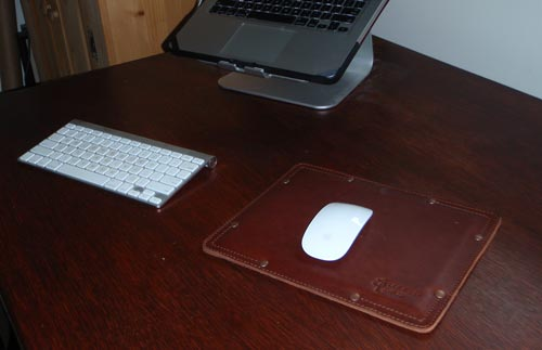 saddleback mousepad desk
