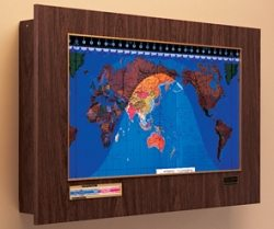 Geochron World Clock – The Gadgeteer