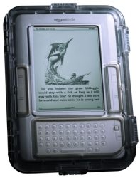A Floating, Waterproof Case for all 6″ Kindles – The Gadgeteer