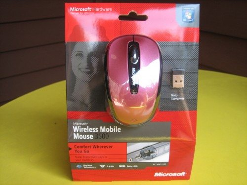Microsoft Wireless Mobile Mouse 3500 Review – The Gadgeteer