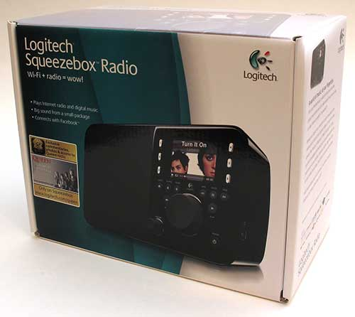 logitech squeezebox radio 1