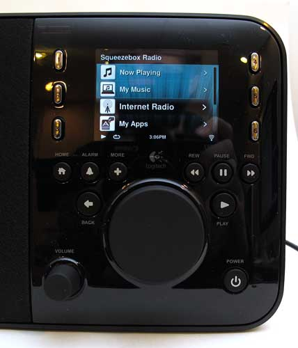 logitech squeezebox radio 7