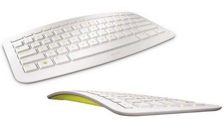 Microsoft Arc Keyboard in White