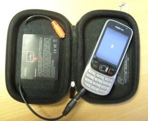 Providing juice to a Nokia 6303 (Note - Red LED flashing)