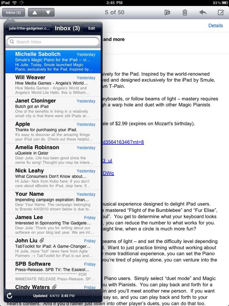 Apple ipad review the gadgeteer i fandeluxe Gallery