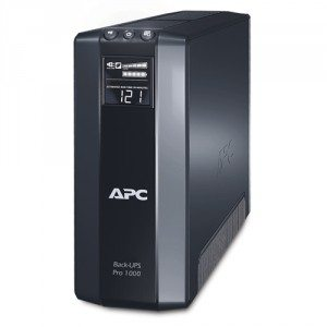 APC Back-UPS Pro 1000 unit.  Seriously?  Buy one.  It will save your computers in a power surge/spike.  It saved mine.