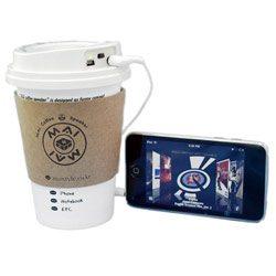 coffeecup speaker