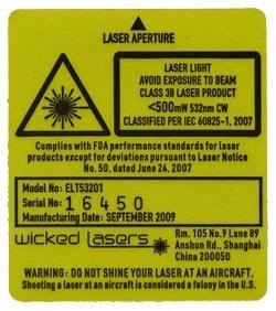 laserwarning