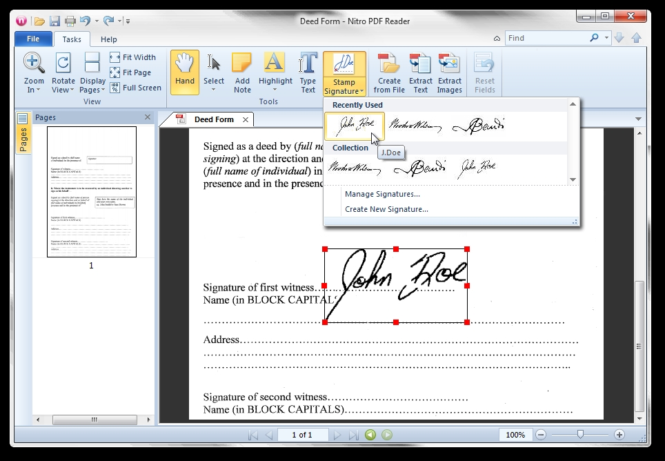 Free PDF reader that also offers PDF creation – The Gadgeteer