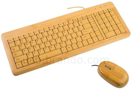 brando bamboo keyboard and mouse