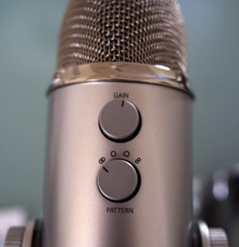 I need help setting Blue Yeti Mic because my Gain is messed