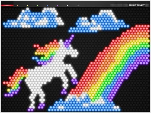 Bright Bright App is a Virtual Lite-Brite Game for the ...