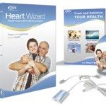 Heart Wizard software comes with ear/finger clip for monitoring and CD to download software.  It's a very easy install and ready to use in a short time.