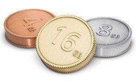 lacie currenkey coin usb drives