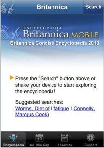 britannica encyclopedia iphone app