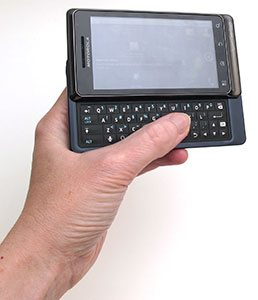 Motorola Droid 2 for Verizon First Impressions – The Gadgeteer