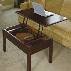 hammacher-schlemmer-convertible-coffee-table