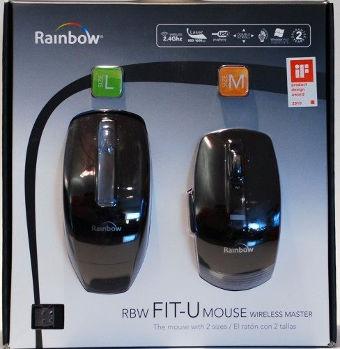 rainbow fit u wireless mouse review 1