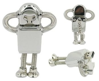 robot usb flash drive 1