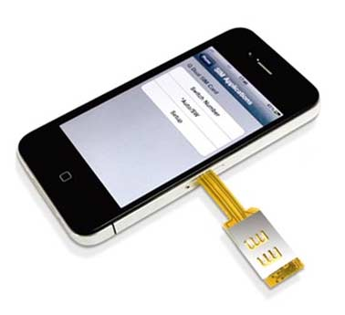 sim pin iphone split personality get an iphone dual sim card adapter 12974