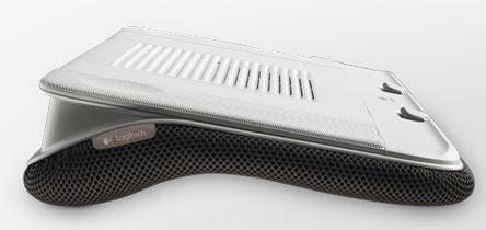 The Logitech Speaker Lapdesk