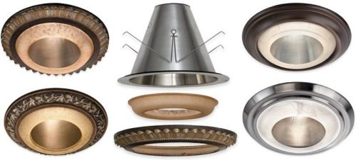 sky mall recessed light cover