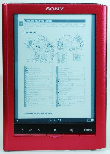 sony prs 650 touch edition ebook reader review the gadgeteer rh the gadgeteer com Sony eReader Color sony digital book reader prs-650 manual