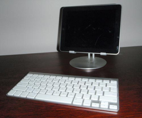 Just Mobile upstand keyboard