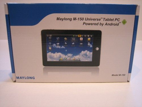 Maylong M150 Universe Tablet PC Review  The Gadgeteer Image