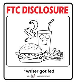 ftc food 250 Privacy Policy & Disclosure